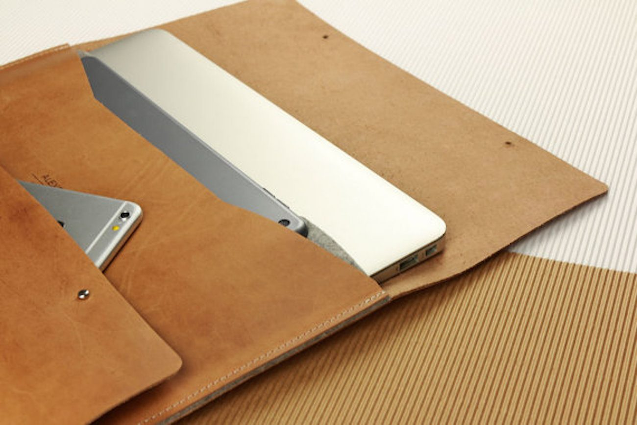 Alexej Nagel Vintage Leather MacBook Sleeve