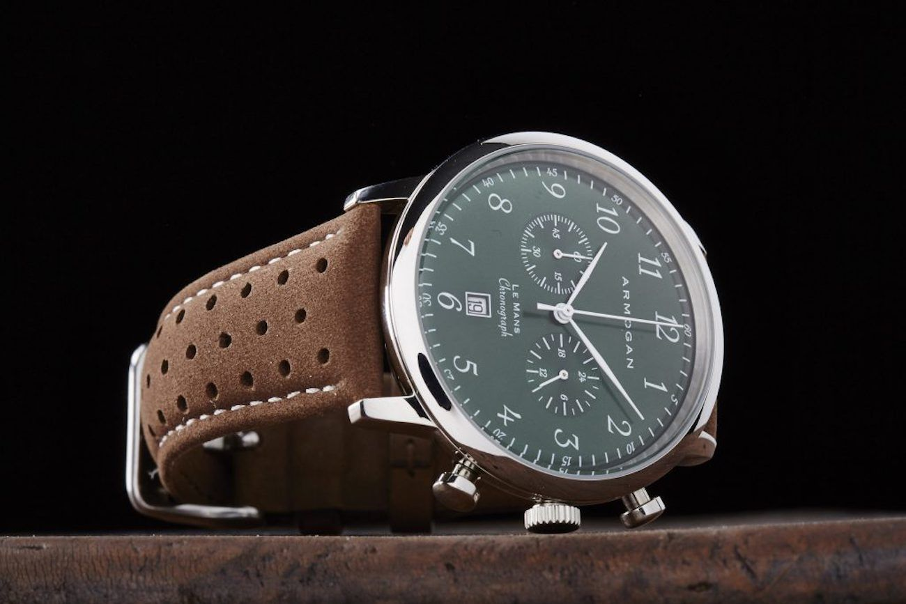 Armorgan Emerald Green Chronograph Watch