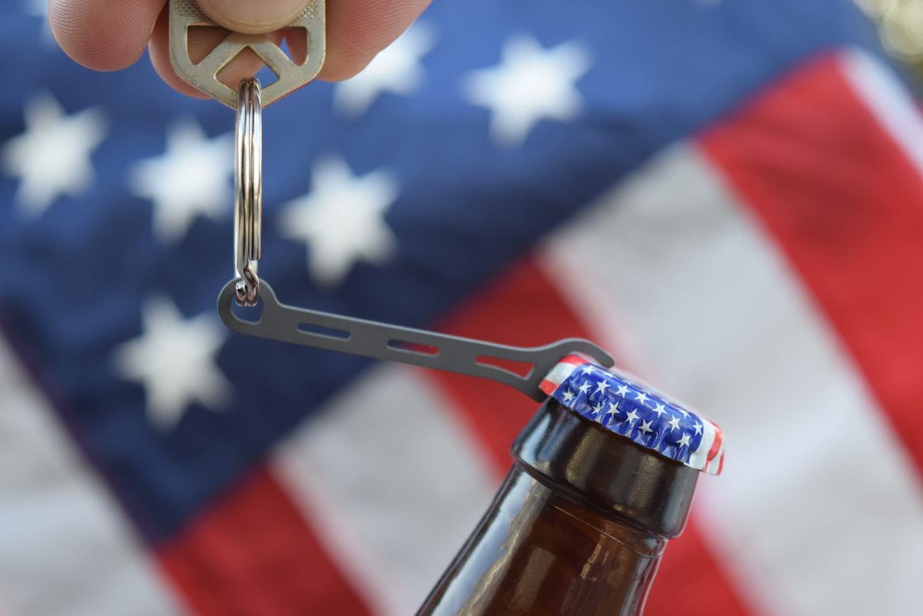 Brew Solider Titanium Beer Opener