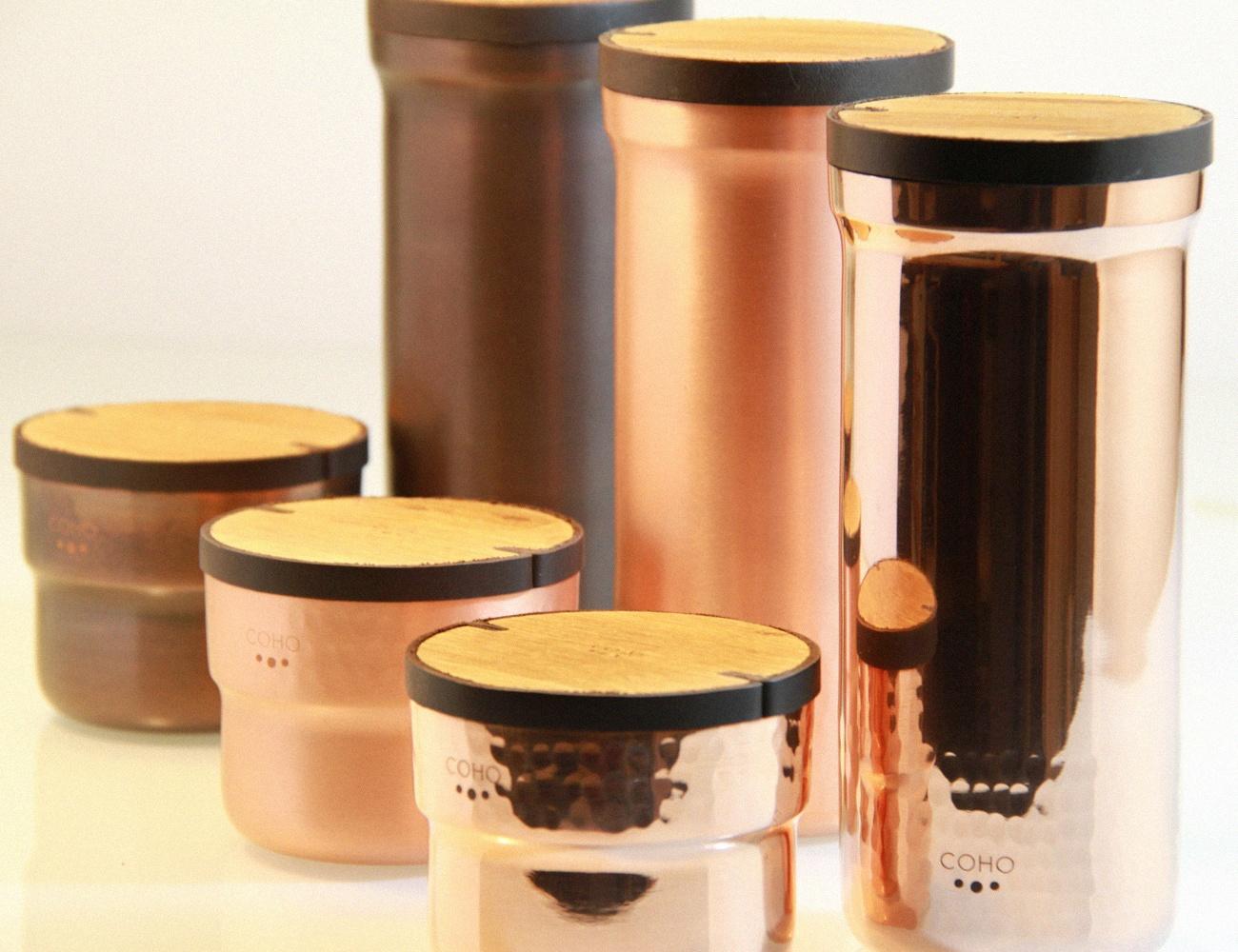 COHO Handmade Copper Water Enricher Set