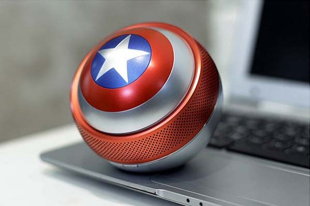 Captain America Shield Mini Bluetooth Speaker