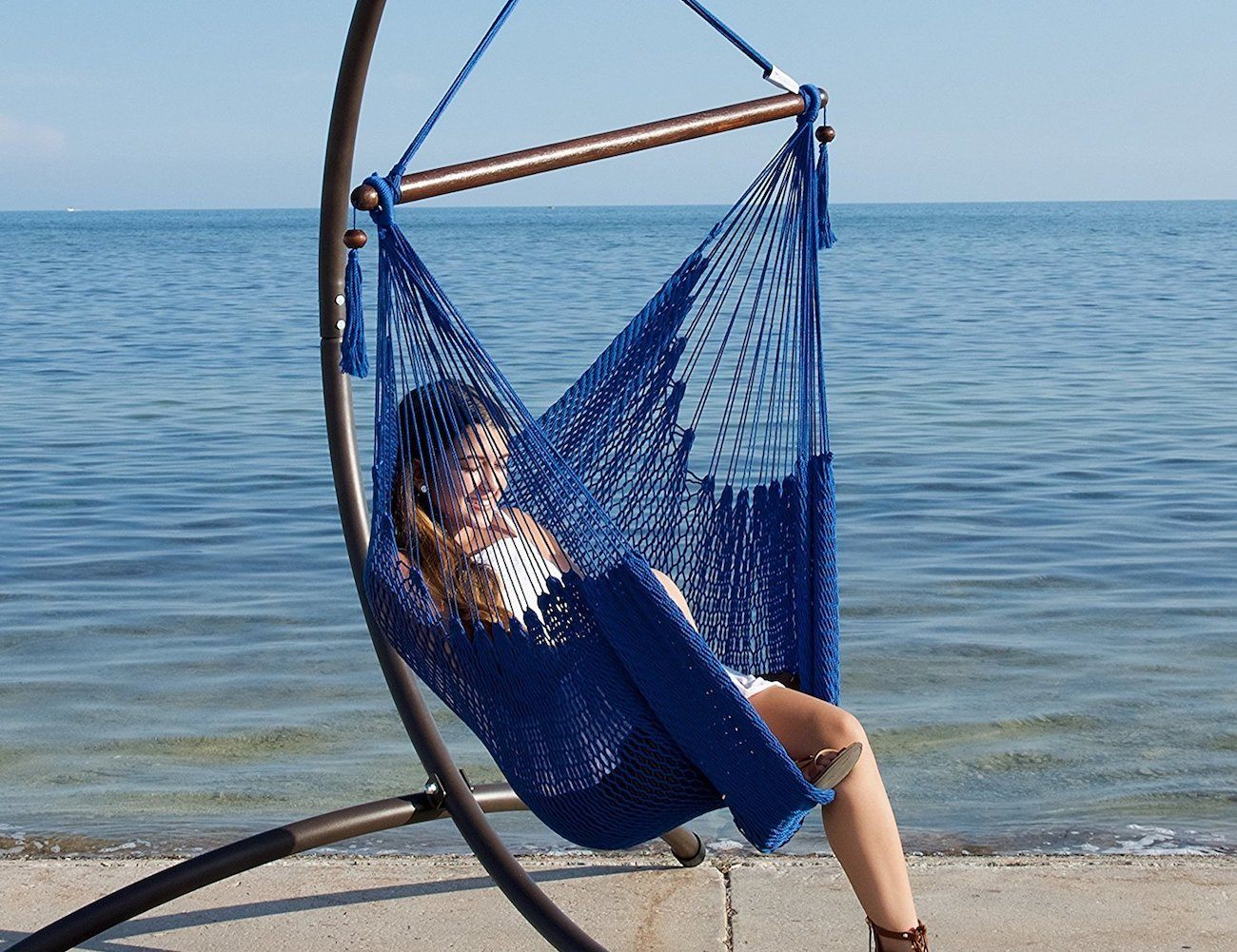 Caribbean Hammock Footrest Chair