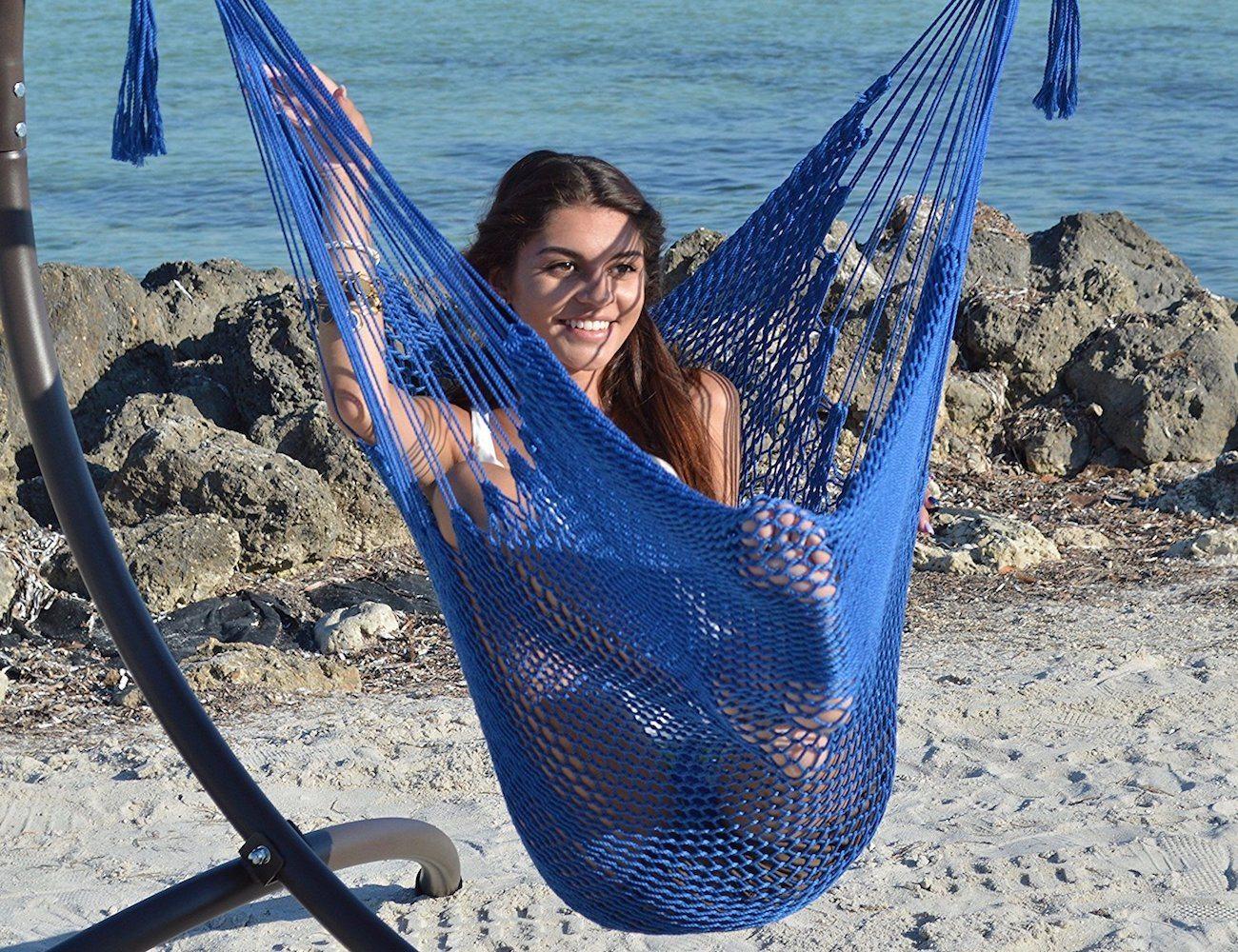Caribbean Hammock Footrest Chair
