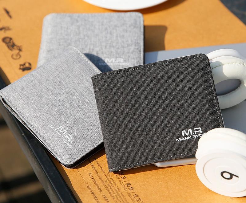 Casual Themed Men's Wallet