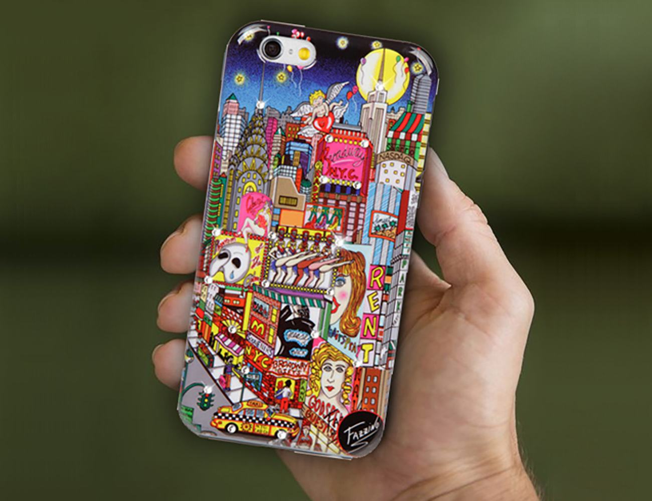 Charles Fazzino Art Collection Smartphone Cases