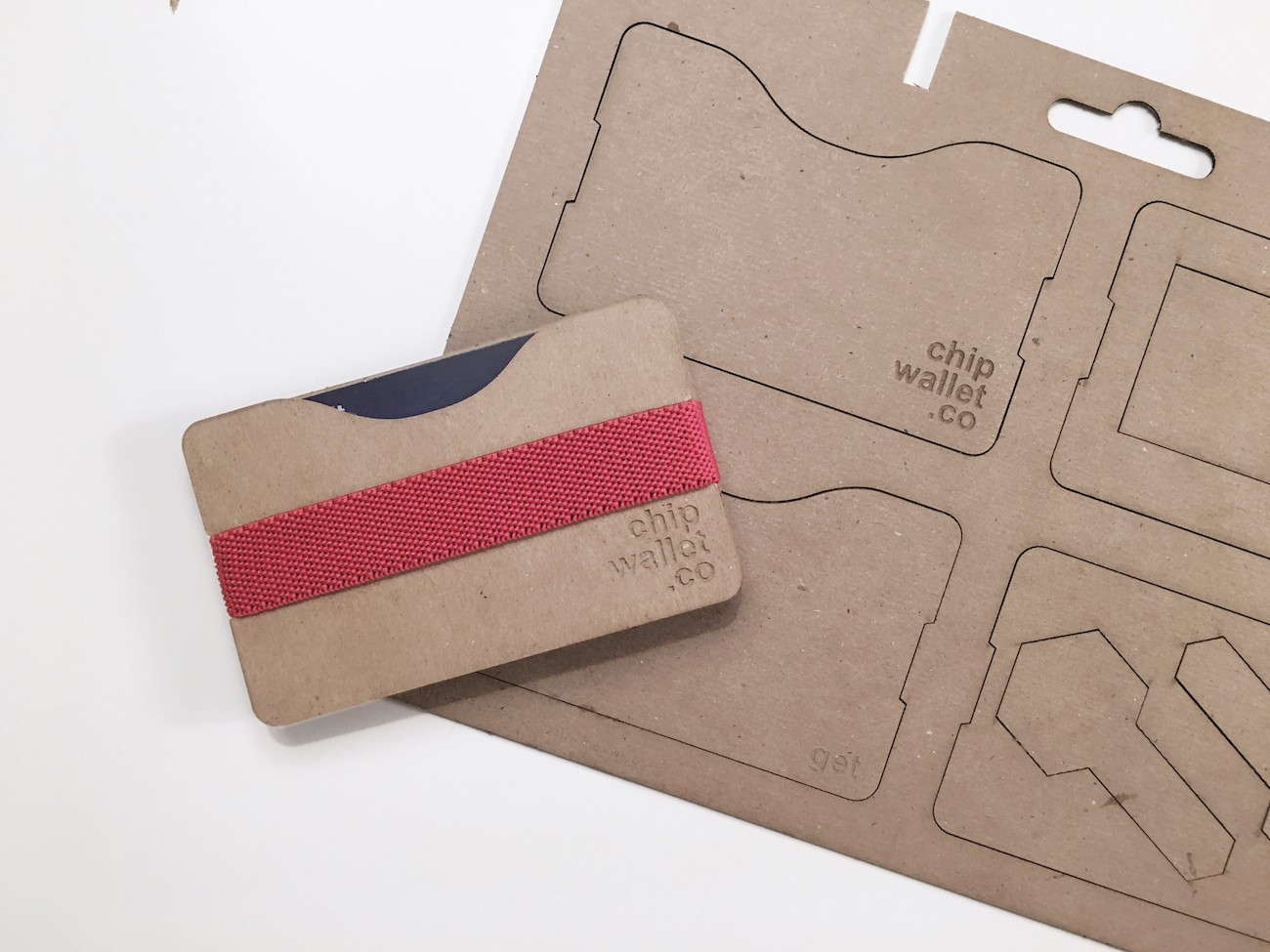 Chipwallet DIY Recycled Wallet