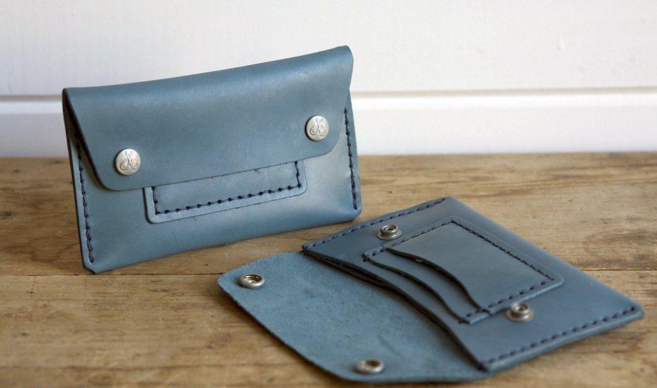 Corter Leather 2016 Signature Indigo Collection