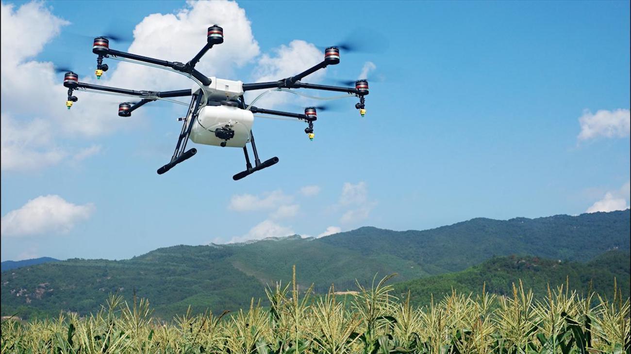 DJI+Agras+MG-1S+Radar+Drone