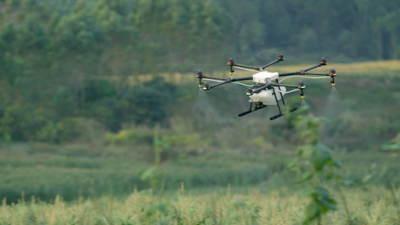 DJI Agras MG-1S Radar Drone