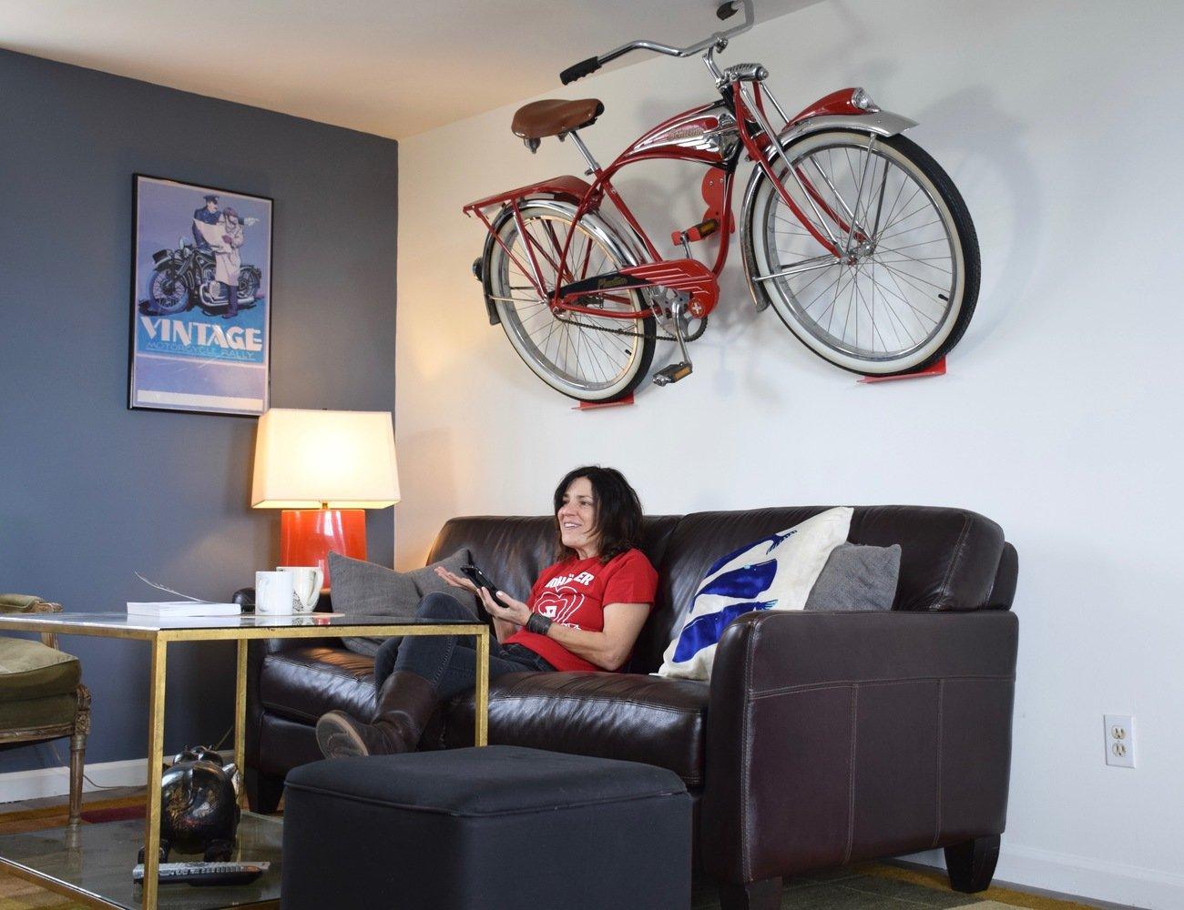 DaHANGER DAN Space-Saving Bike Hook