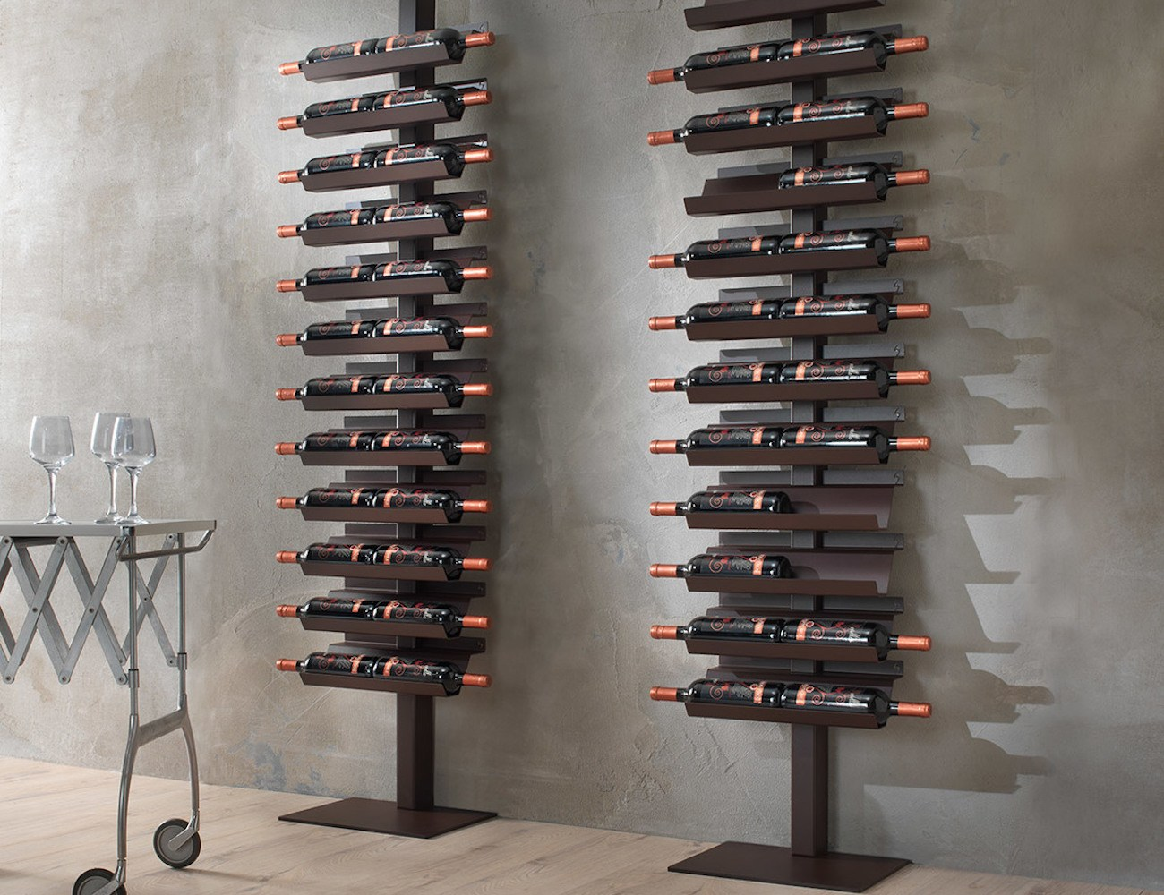 Dioniso+Basic%21+Steel+Wine+Rack