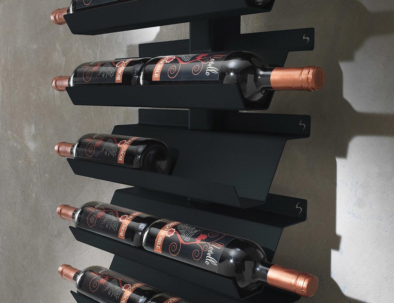 Dioniso Basic! Steel Wine Rack loading=