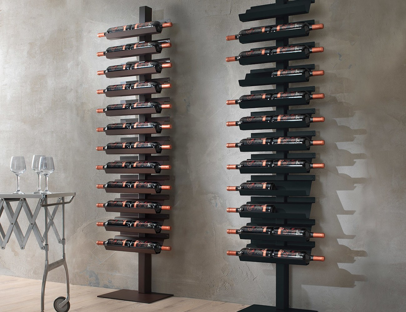 Dioniso Basic! Steel Wine Rack