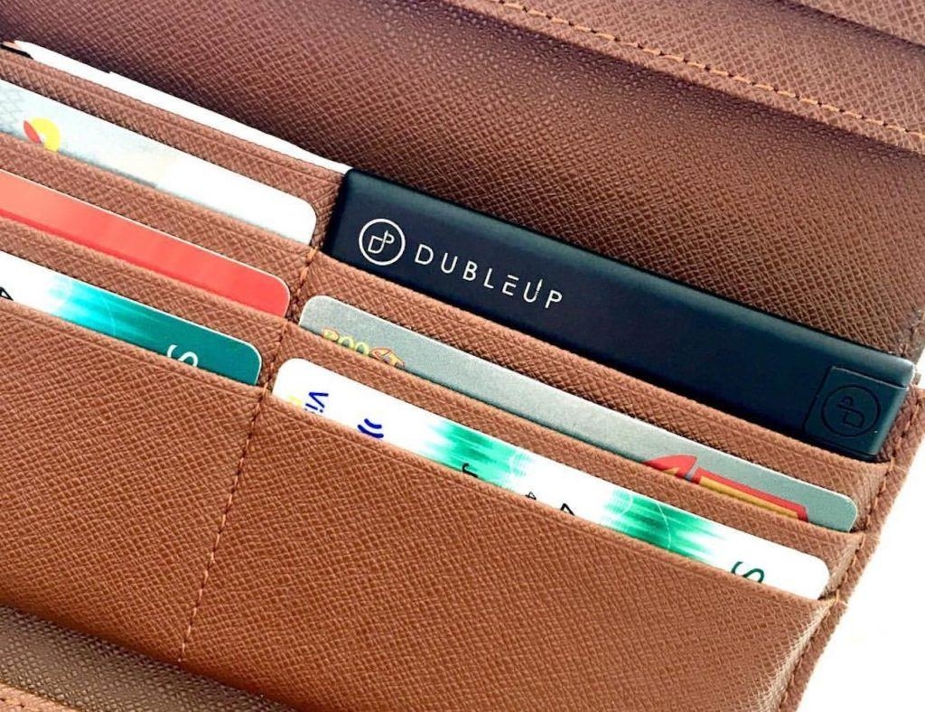 The Doubleup Compact Power Bank is the Size of a Credit Card