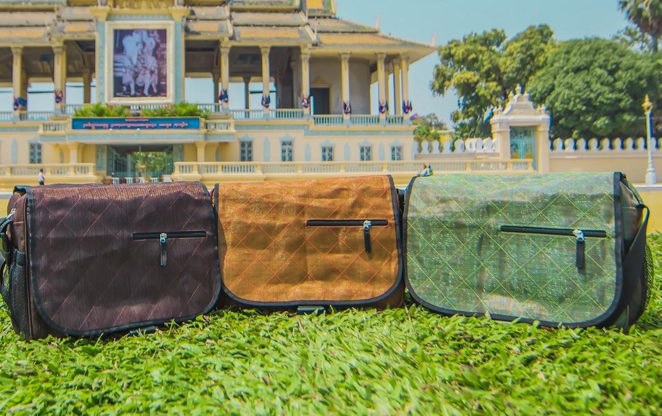 Easy Breezy Eco-Friendly Messenger Bag
