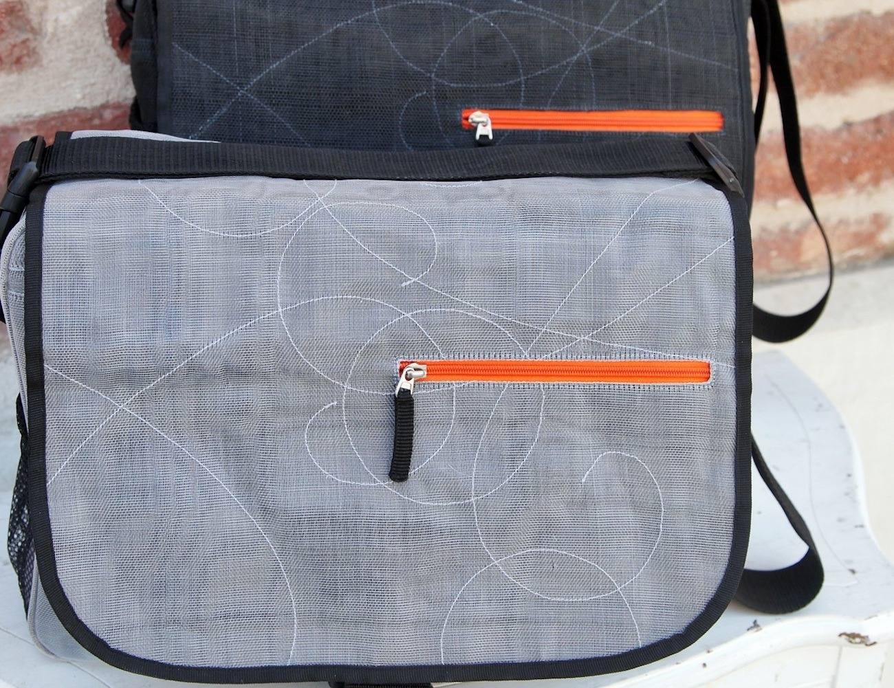 Easy Breezy Eco-Friendly Messenger Bag