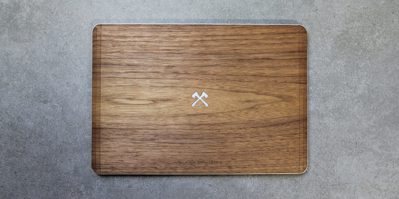 EcoSkin Wooden MacBook Axe Skin