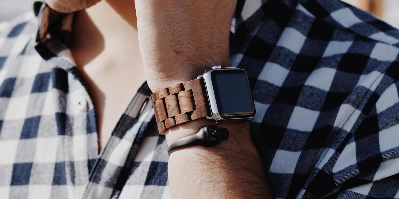 EcoStrap Wooden Apple Watch Strap