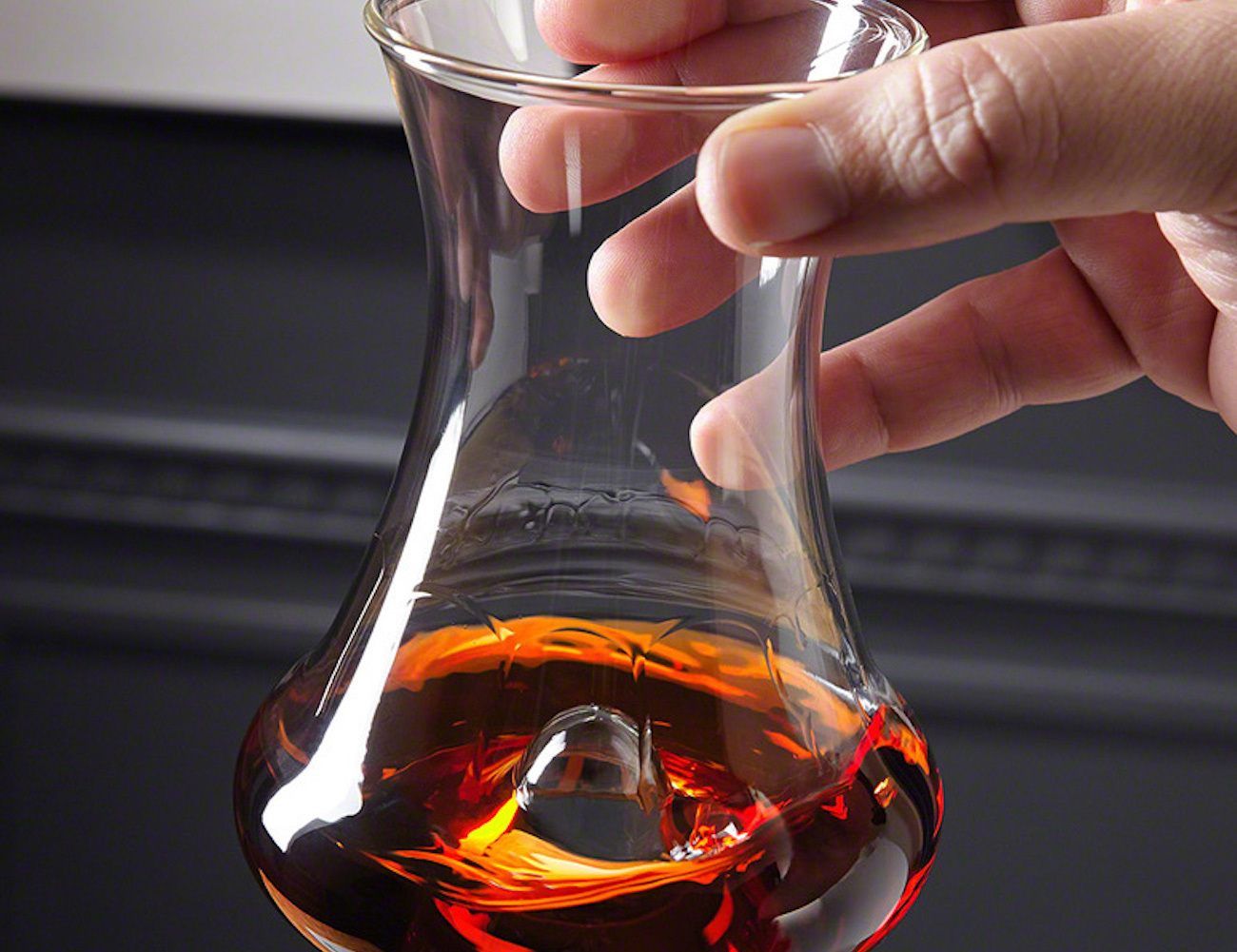 Final Touch Rum Tasting Glass