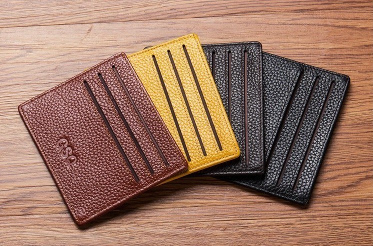 Slim Leather Card Holder