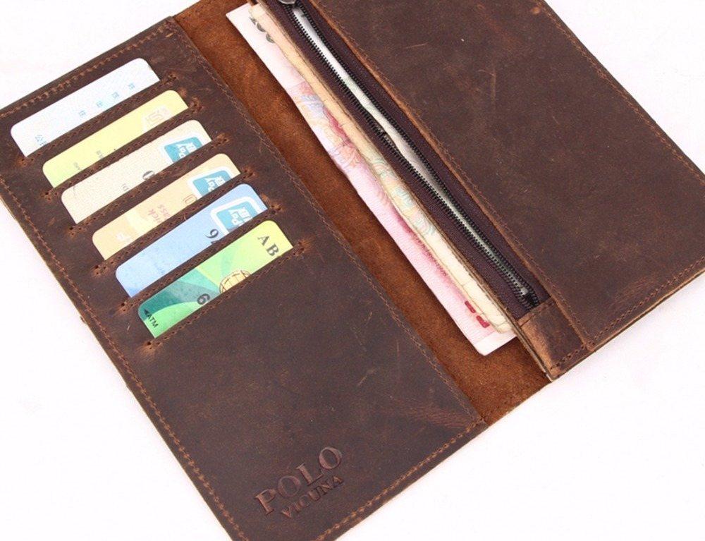 Luxury Vintage Leather Wallet
