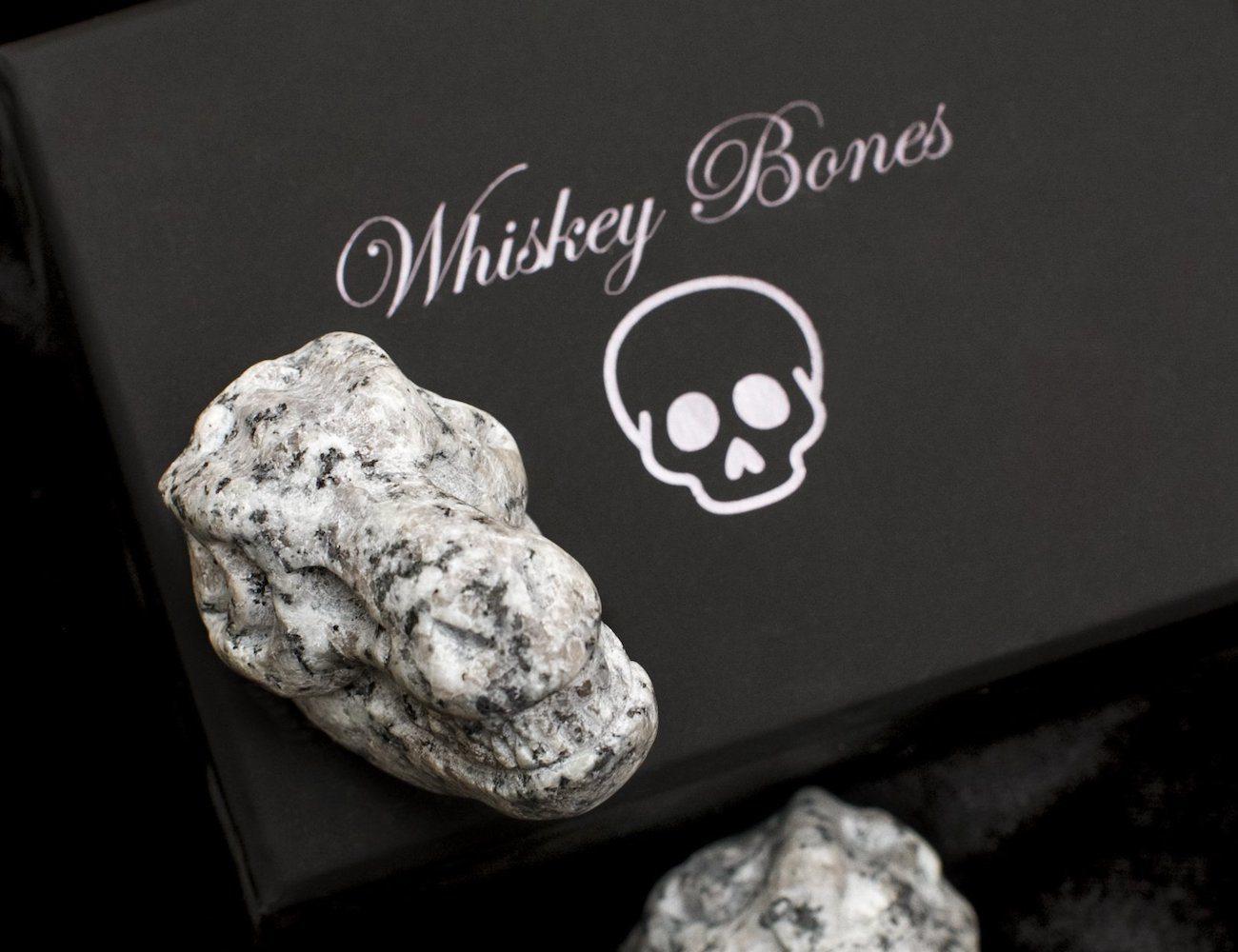 Granite T-Rex Skull Whiskey Rocks