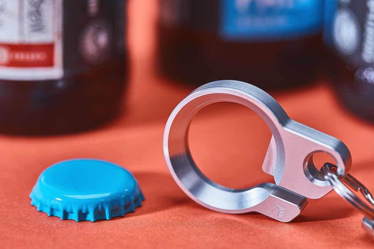 Grovemade Aluminum Key Ring