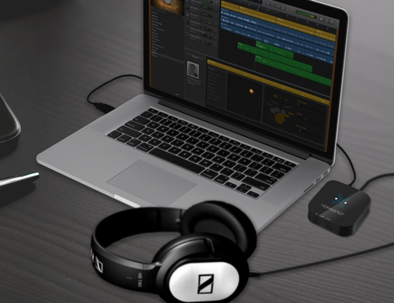 HomeSpot Low Latency Audio Bluetooth Receiver Dongle