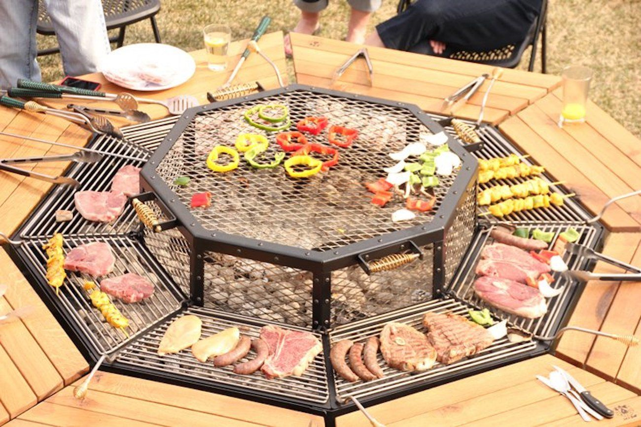 JAG Eight 8-Person Grill Table