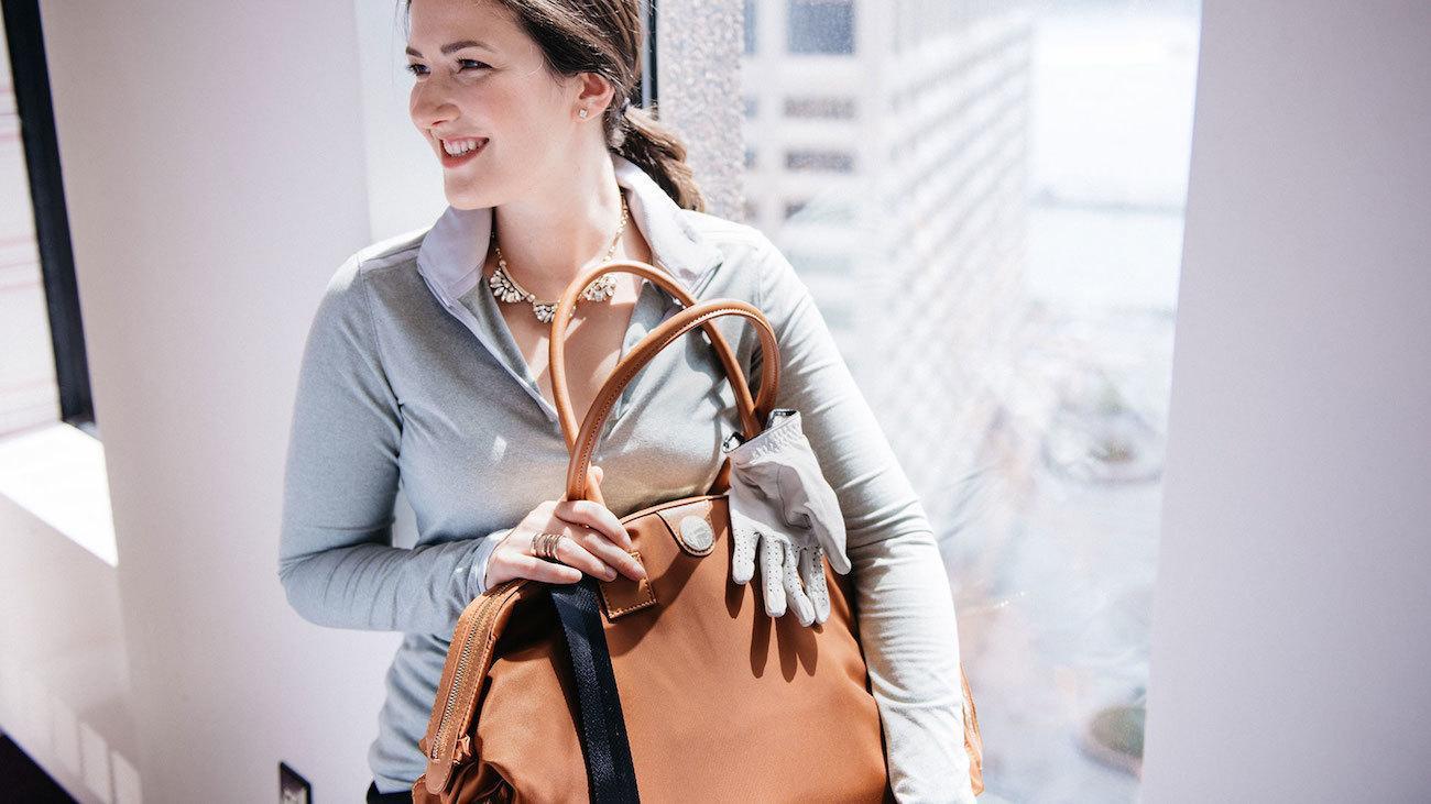 Jemma Birdie Nylon Gym Bag