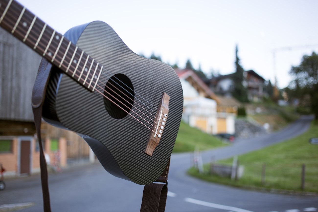 KLOS+Carbon+Fiber+Acoustic+Electric+Guitar
