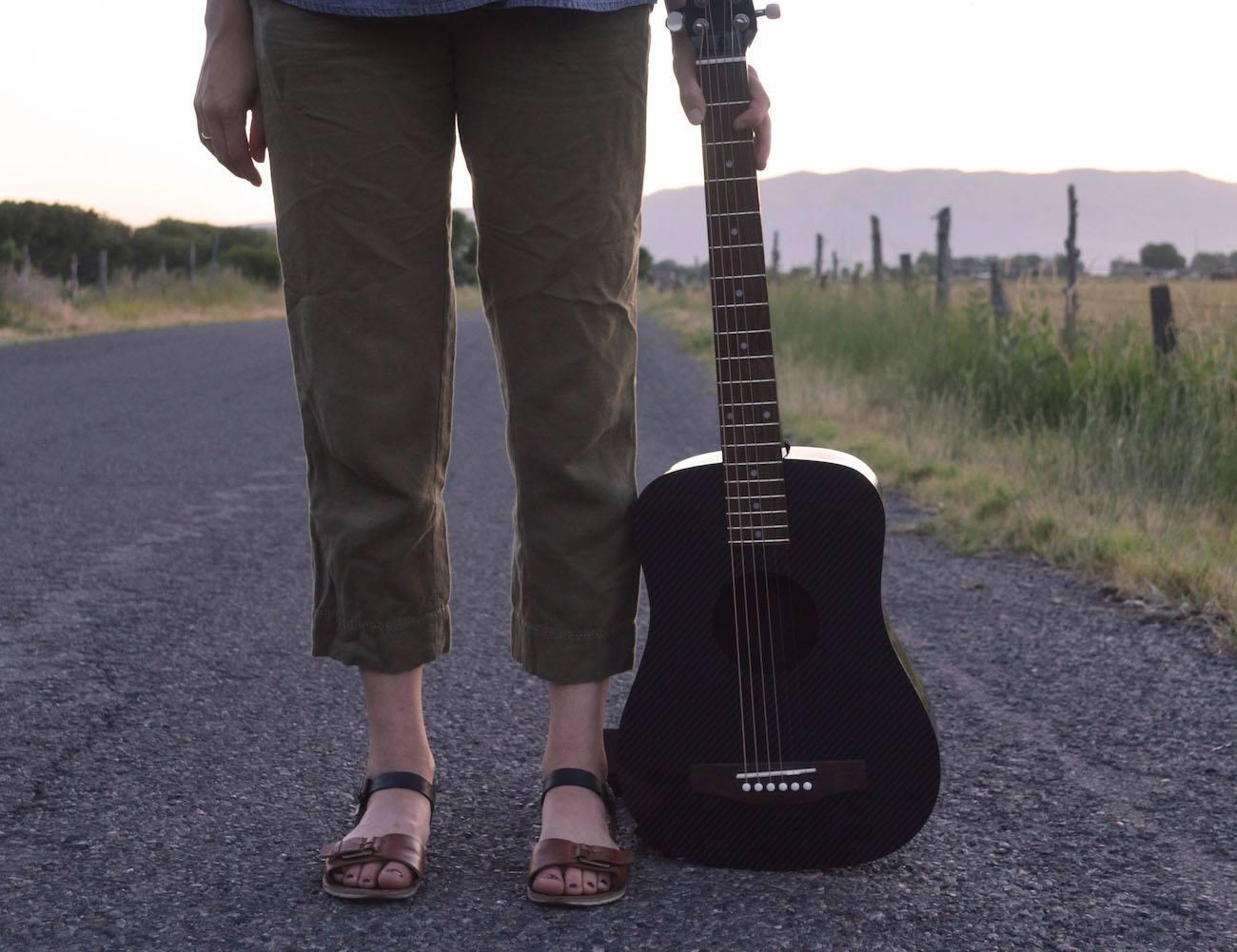 KLOS Carbon Fiber Acoustic Electric Guitar