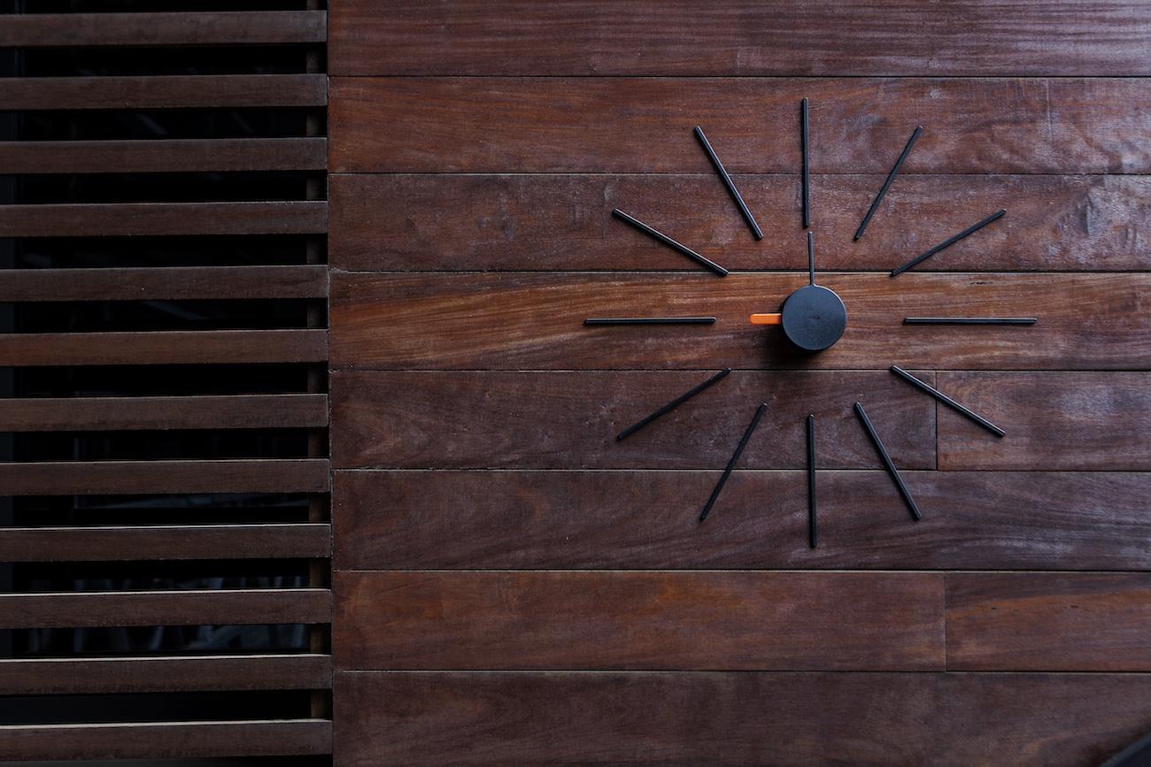 Klox Urchin Wall Clock 187 Gadget Flow