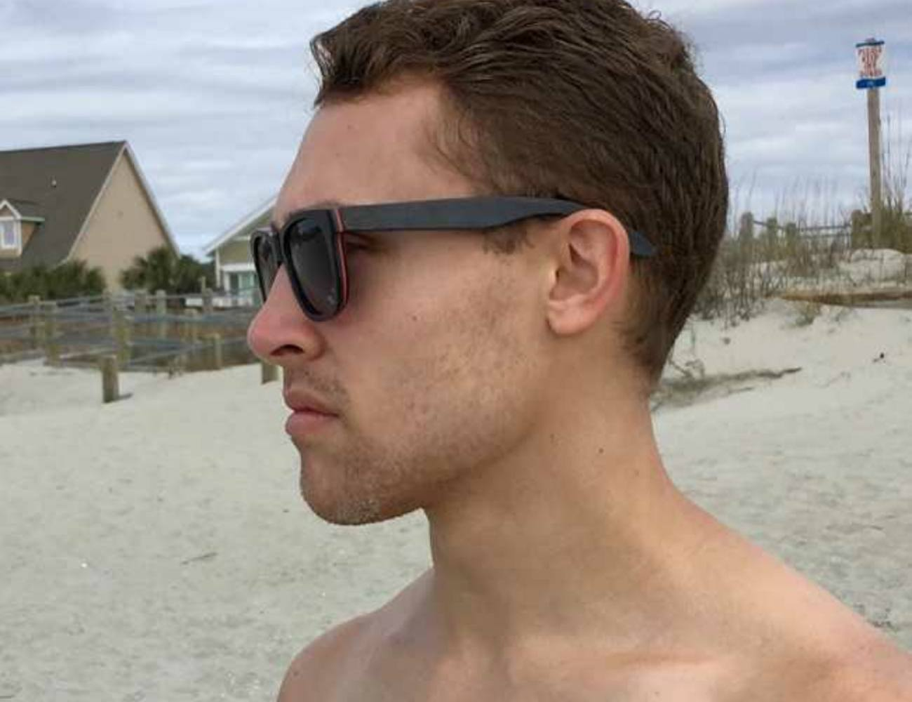 KickFly's Skateboard Wood Sunglasses