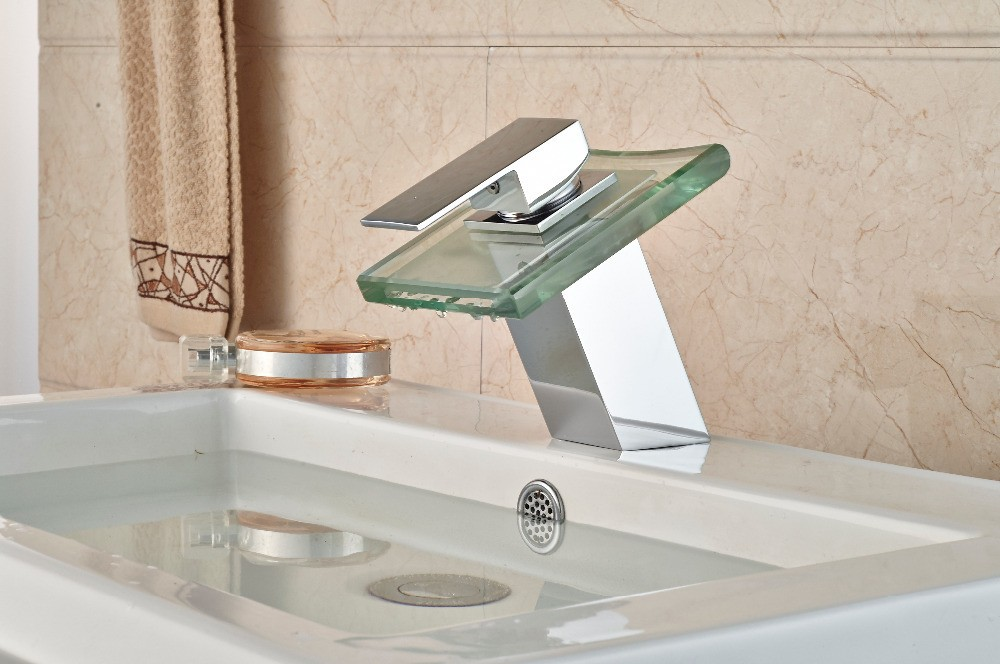 LED Basin Faucet that Changes Color