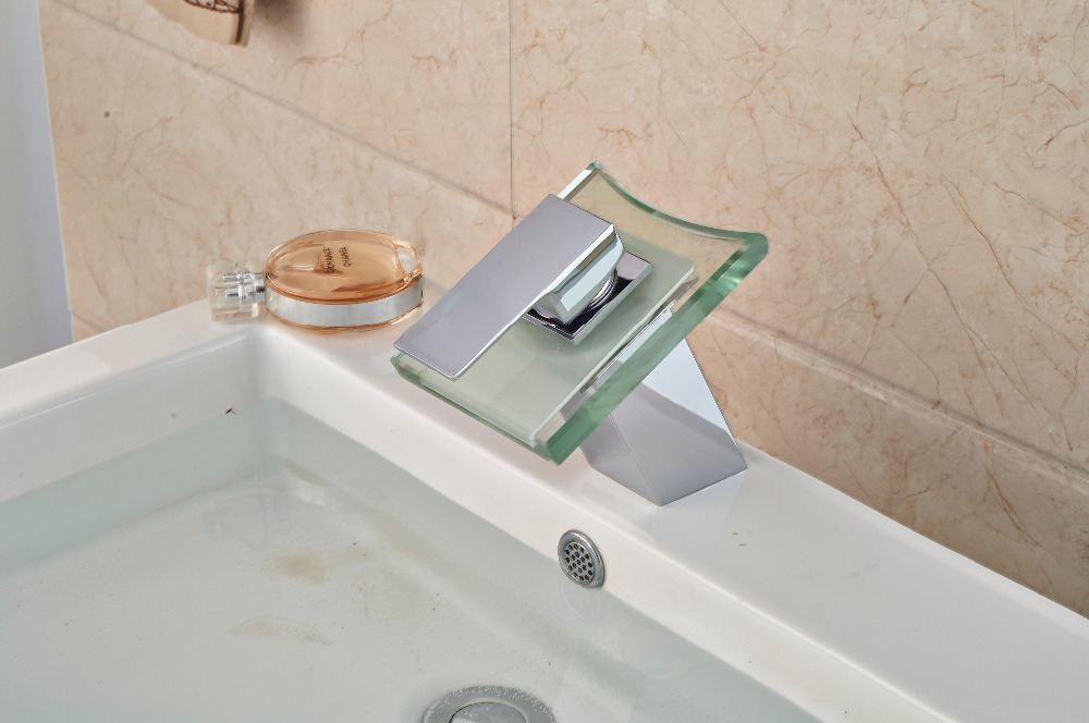 LED Basin Faucet that Changes Color