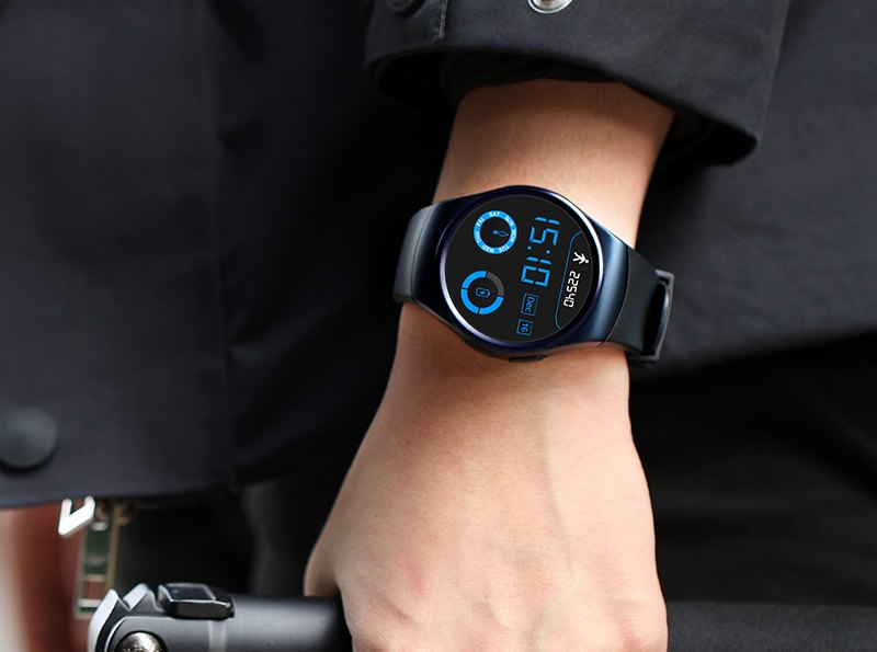 LEMFO Round-Screened Smart Watch