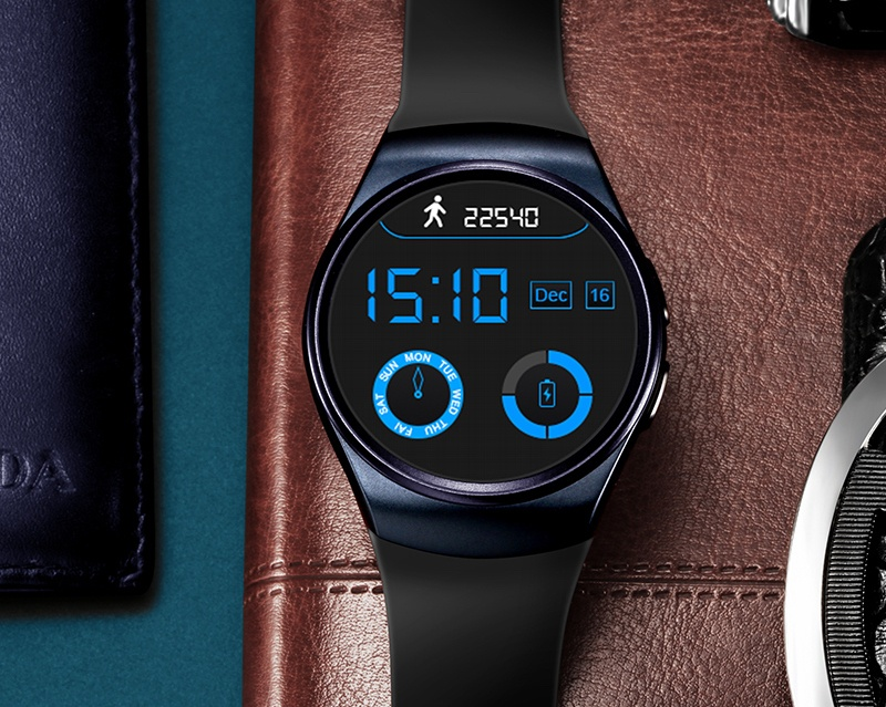 LEMFO Round-Screened Smart Watch