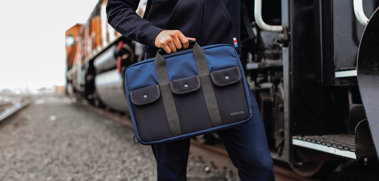 Lexdray Amsterdam Slim Briefcase