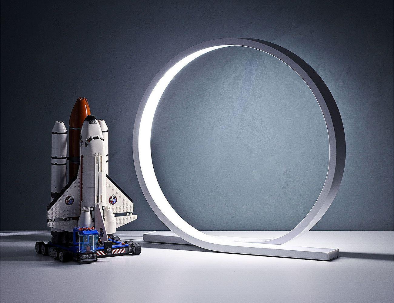 Loop+Minimalist+Table+Lamp