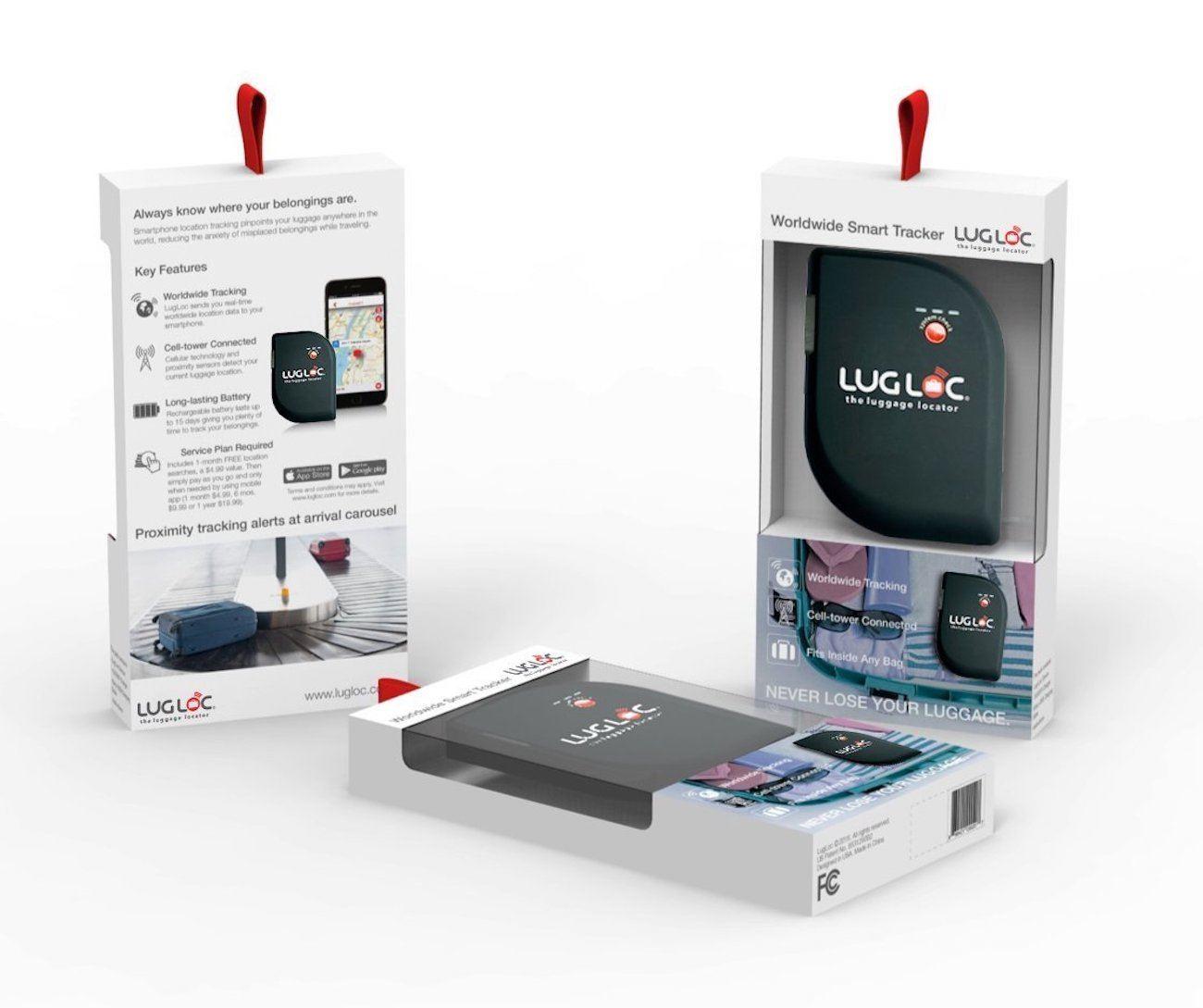 LugLoc GPS Luggage Tracking Device