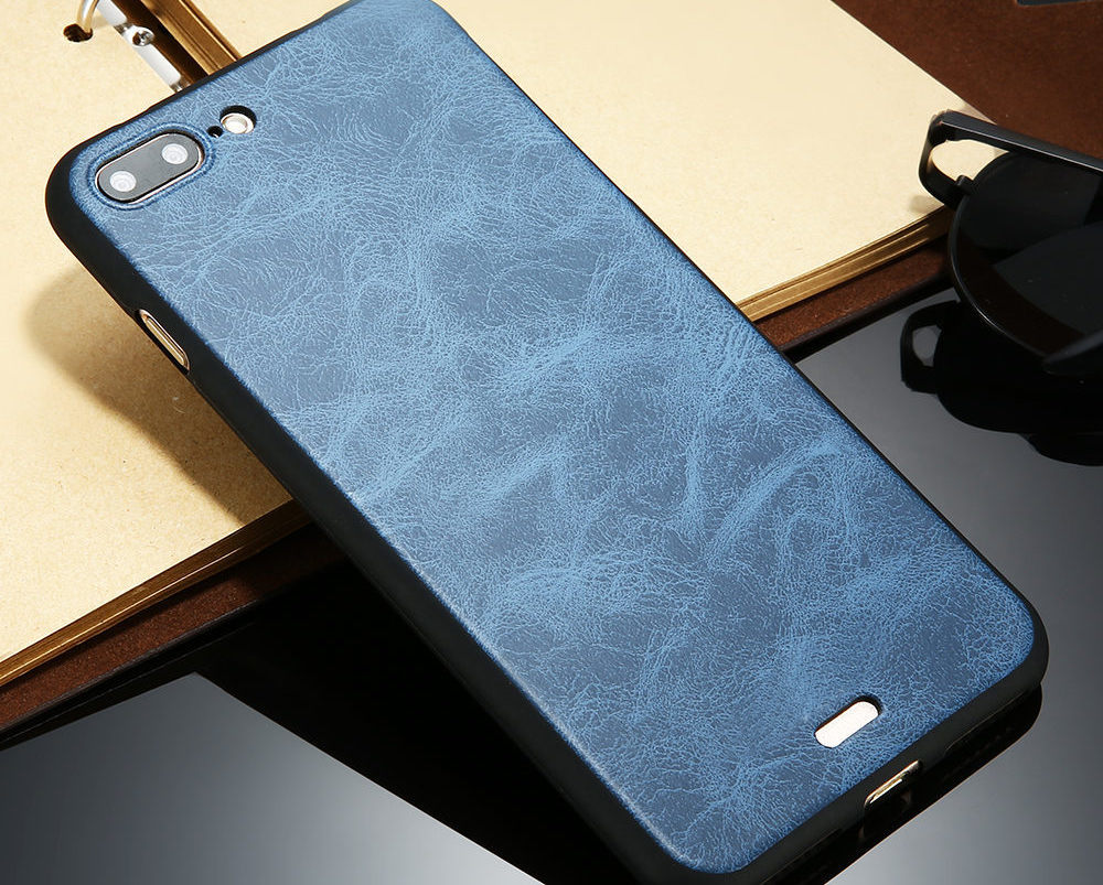 Luxury Smooth iPhone 7 Leather Cover