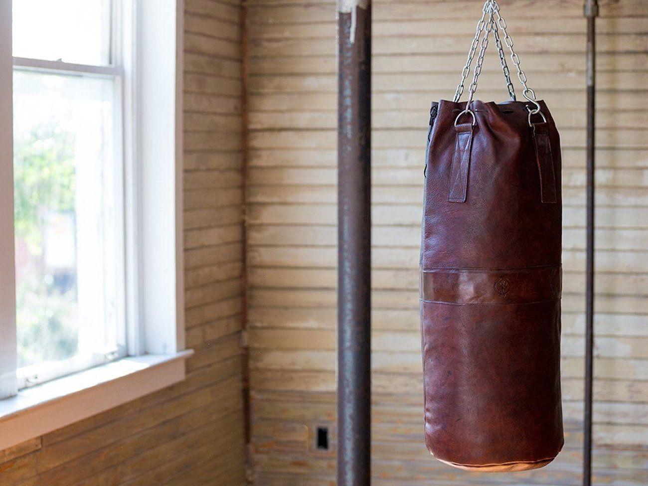 MVP Heritage Leather Heavy Punching Bag