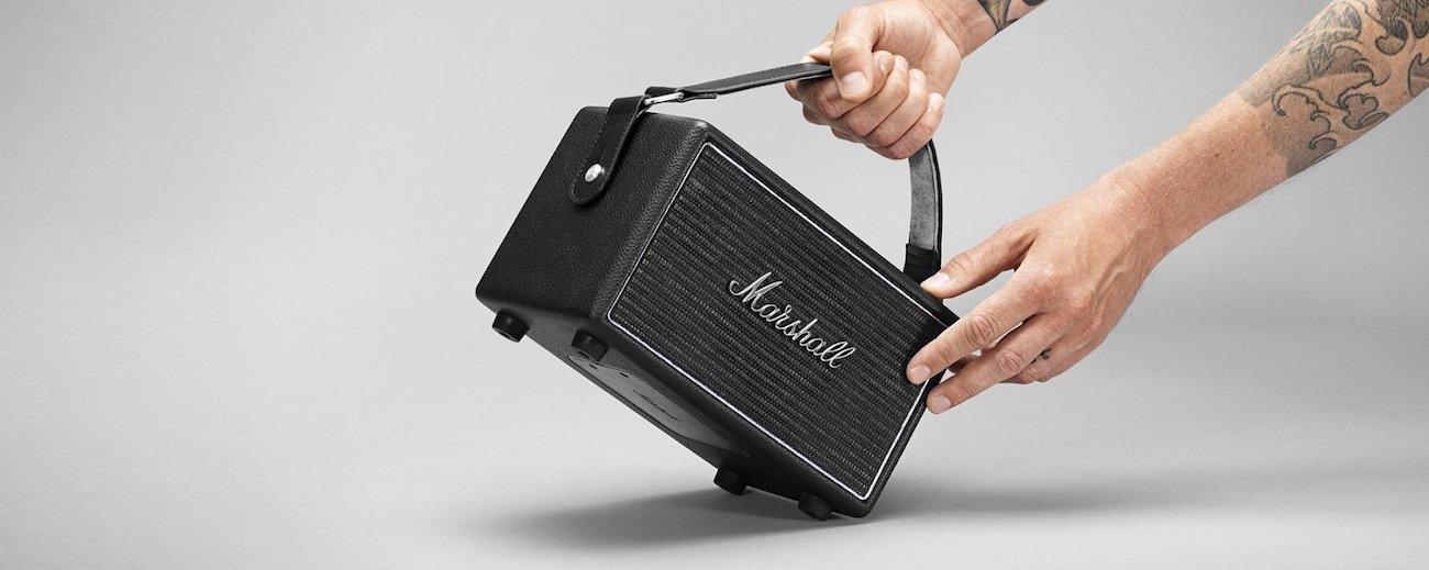 Marshall Kilburn Steel Speaker