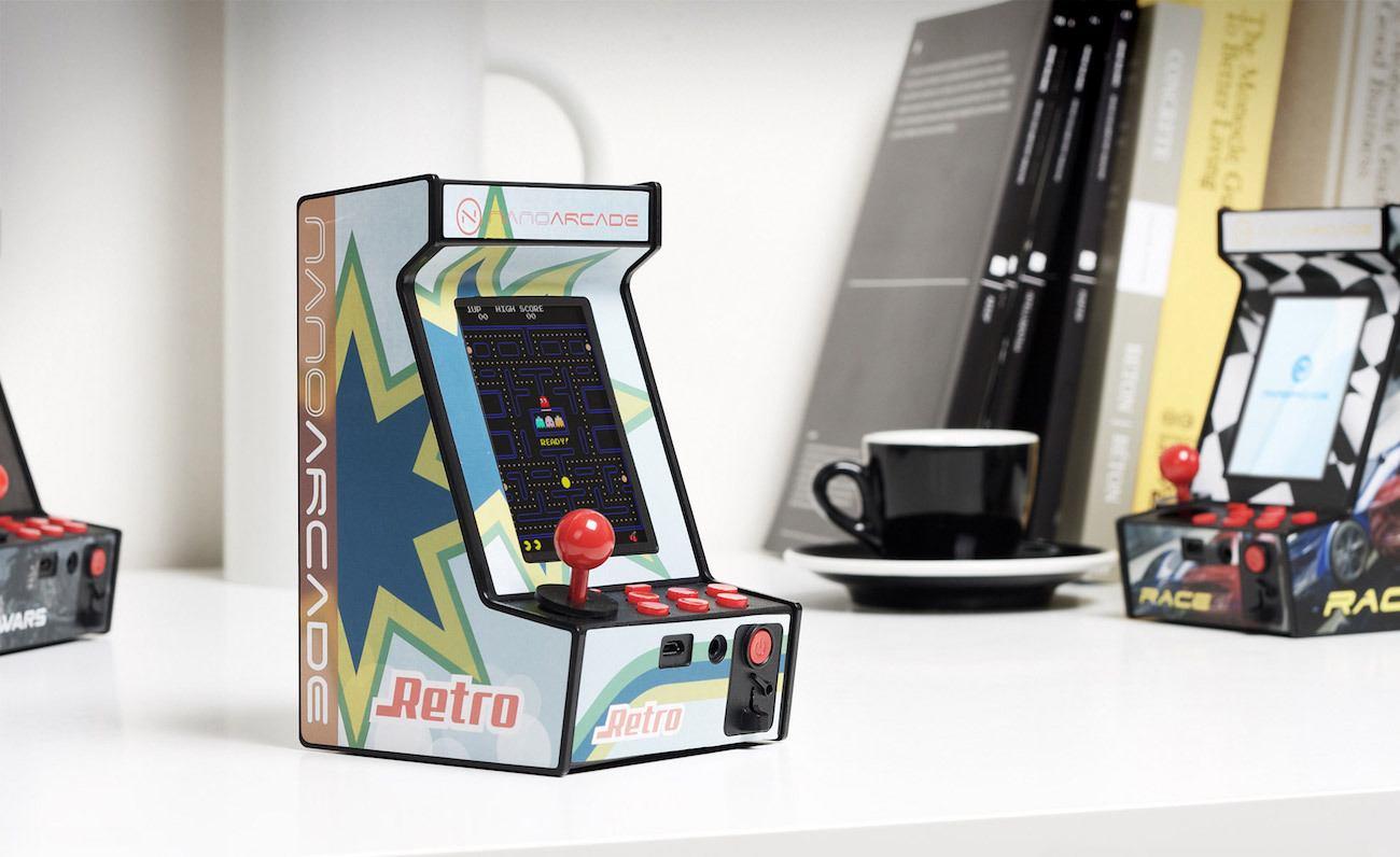 Nanoarcade Mobile Retro Arcade
