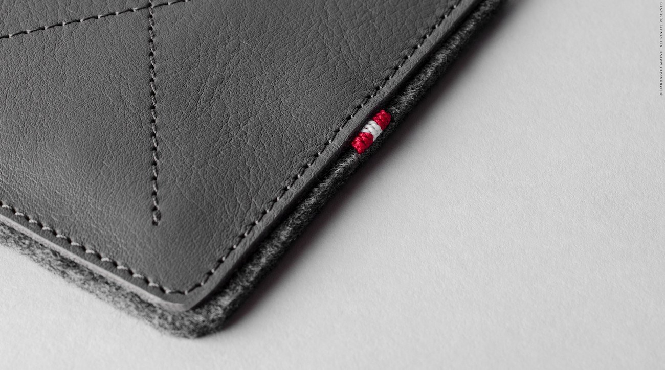 No Fold Slim Minimal Wallet by Hard Graft