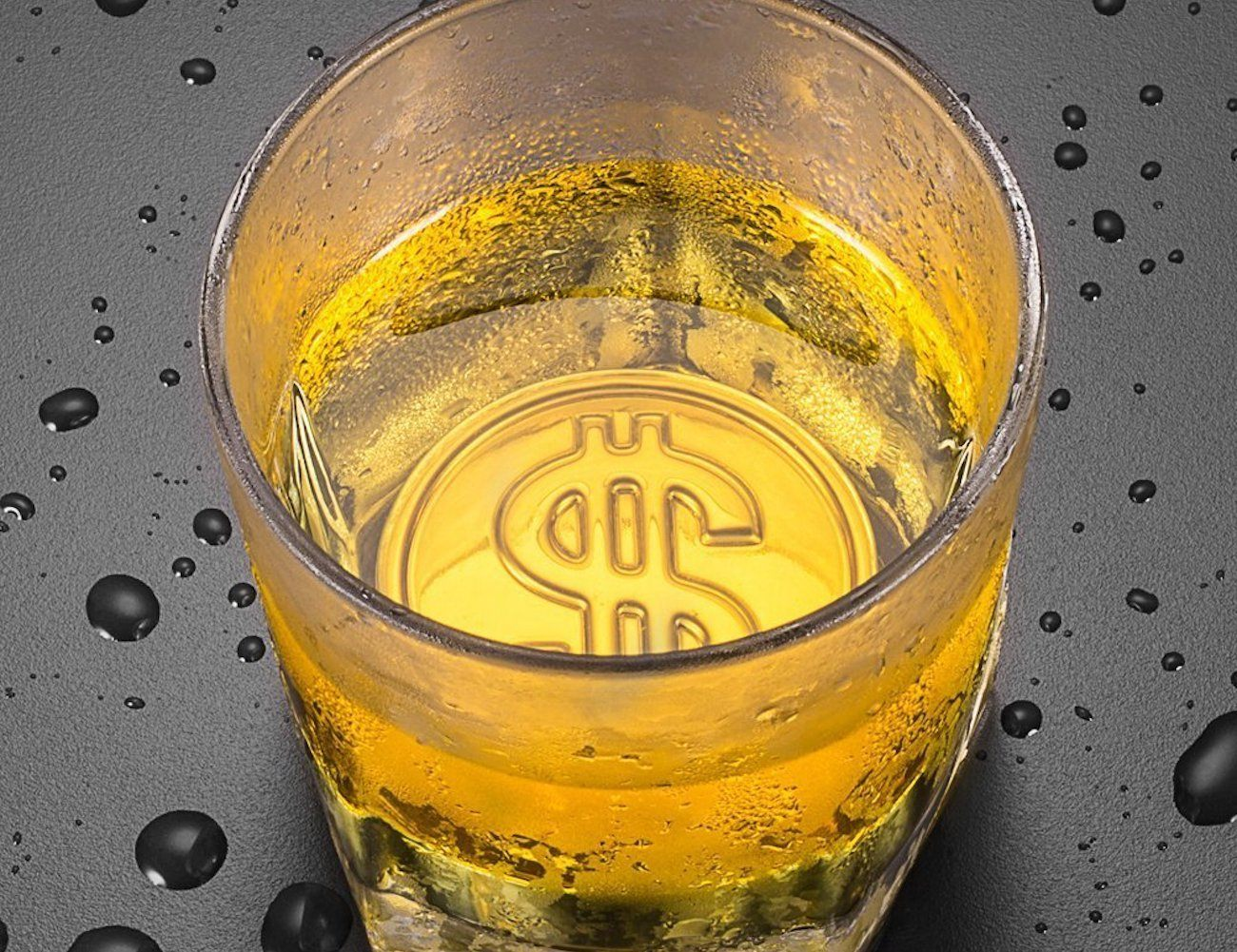 OCore Coin Whiskey Sipping Rock