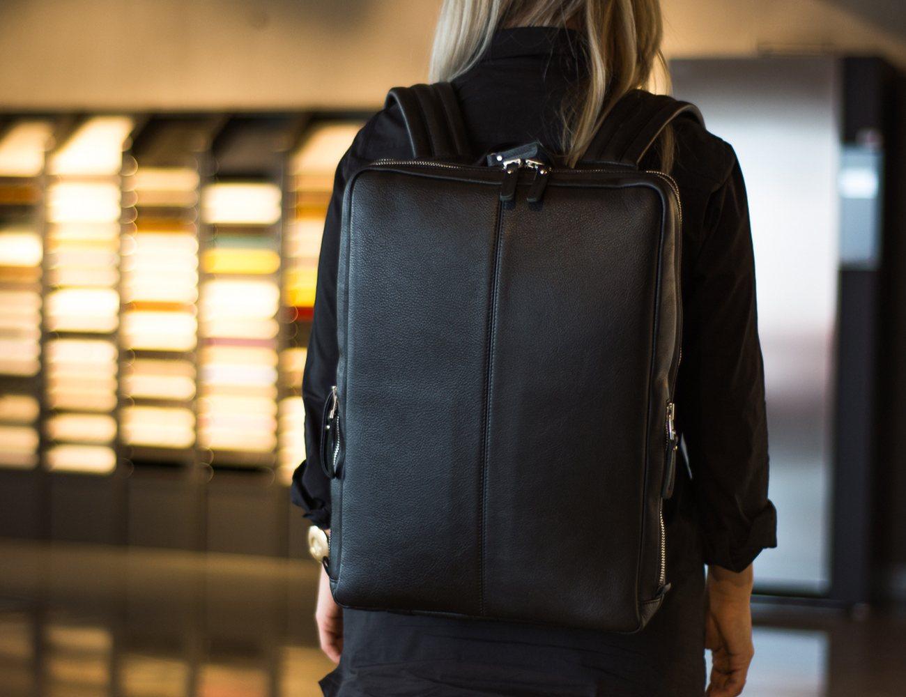 Otenteko Modern Minimalist Leather Backpacks