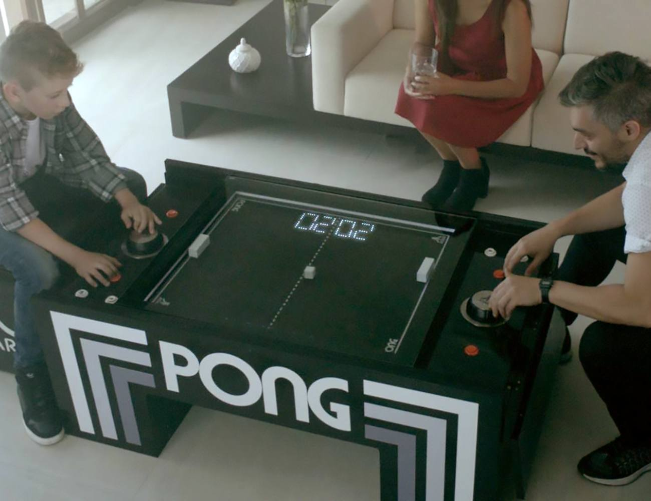 ATARI PONG Multifunctional Coffee Table Gadget Flow - Atari coffee table
