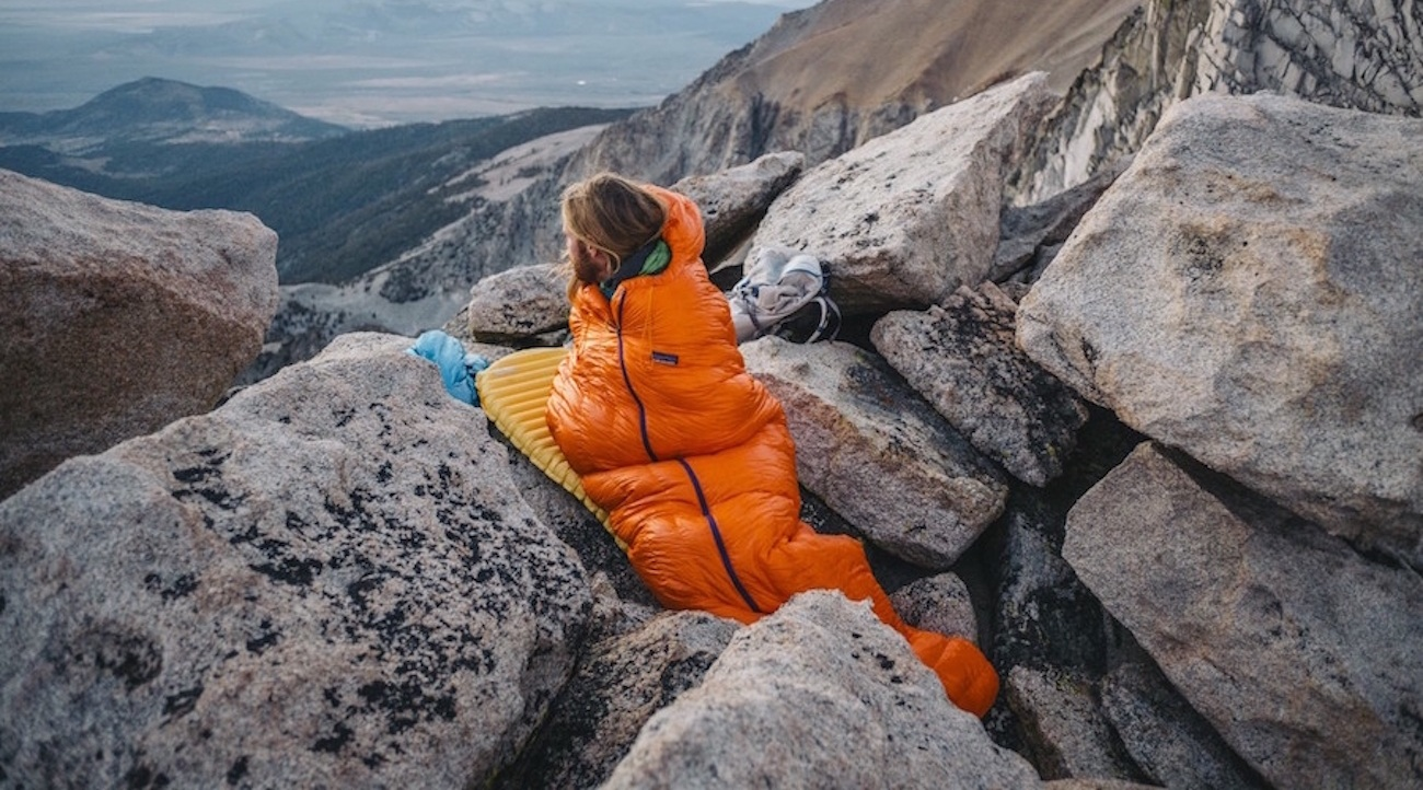 Patagonia Insulated Down Sleeping Bag
